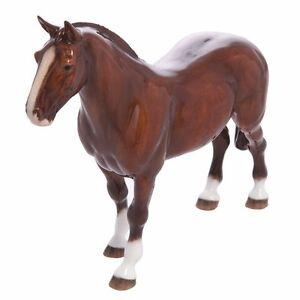 John-Beswick-Welsh-Cob-Bay-Horse-Figurine-NEW-in-Gift-Box