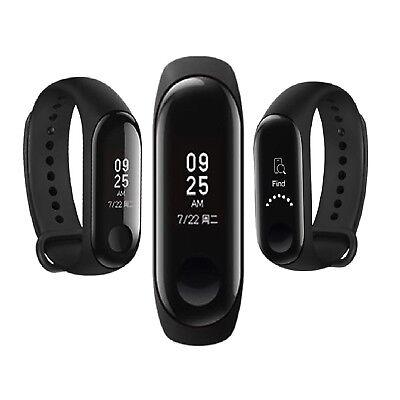 Xiaomi Mi Band 3 Fitnesstracker Pulsuhr Schwarz OLED Armband 5ATM Wasserdicht