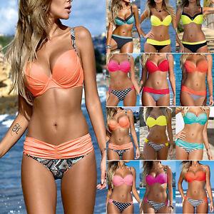 Women-Sexy-Bandage-Bikini-Set-Padded-Bra-Push-Up-Swimwear-Beachwear-Bathing-Suit