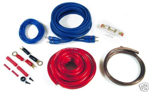 Renegade ren20 kit amplificador juego de cables 20qmm