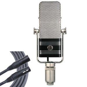 aea r44c classic ribbon vocal recording microphone mogami gold studio cable ebay. Black Bedroom Furniture Sets. Home Design Ideas