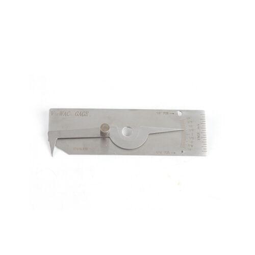 Gage Inspection Ruler Automatic Welding Gauge Tool Kit Calliper 50/'/'Measuring US