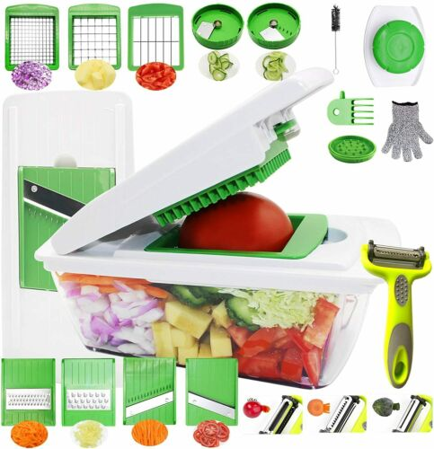 Veggie slicer Vegetable Chopper Mandoline Slicer Dicer Peeler Onion Chopper