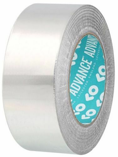 AT500 Aluminium 50mm x 50m Klebeband Folienstärke 40 Micron Gesamtdicke 0.08 mm
