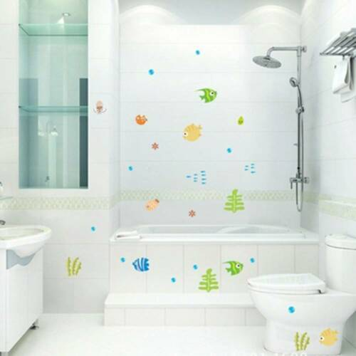 Wall Stickers Tropical Fish Underwater Room Stickers Wall Decals Baby