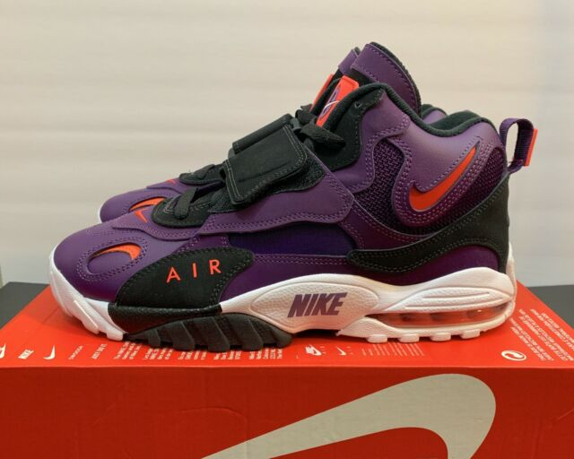 1cf694954d Nike Air Max Speed Turf Training Shoes 525225-500 Men's Size 10 Purple White