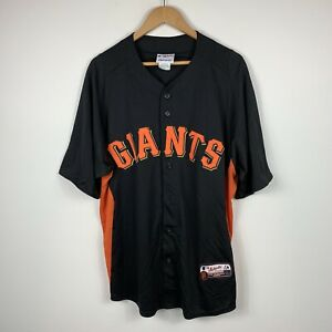 San-Francisco-Giants-Majestic-Baseball-Jersey-Mens-Size-Large-Great-Condition