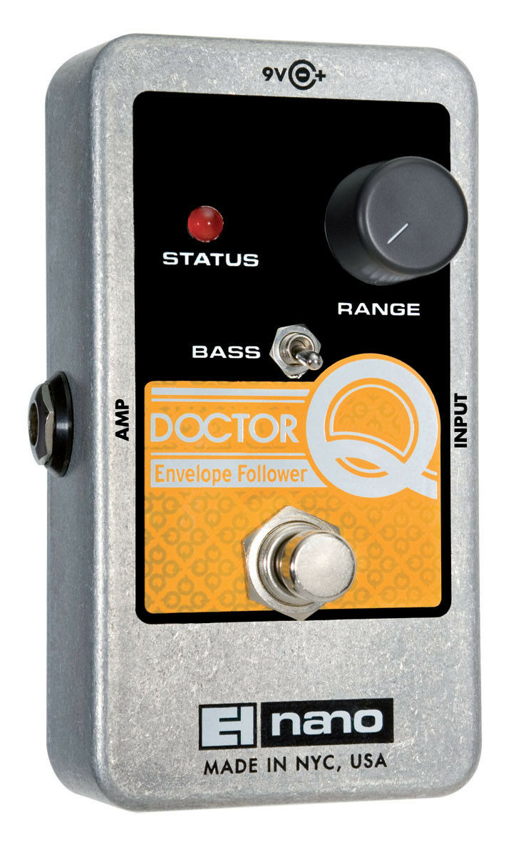 EHX Nano Doctor Q Filter Effektgerät für Gitarre Electro Harmonix