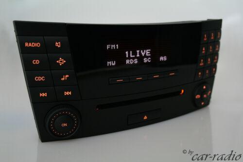 Original Mercedes audio 20 CD mf2310 w211 coche s211 e-Klasse Alpine 2-din