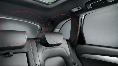 Genuine Audi Q3 MK1 Ventanas Traseras 3 piezas de accesorios Kit de Cortina de Sun Persianas