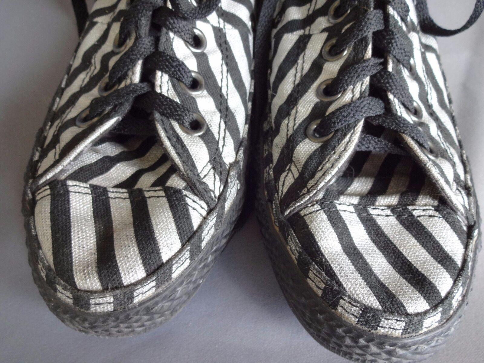 CONVERSE ALL FEMME STAR CHAUSSURE BASKET TISSUS GRIS NOIR HOMME FEMME ALL Schuhe pt 39,5 b924c9
