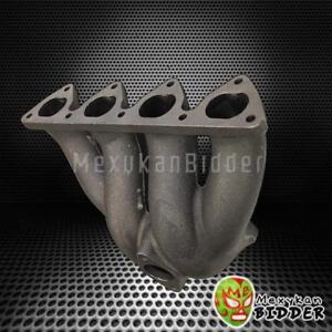 Details about Honda Civic/CRX/Del Sol D-Series D15 D16 Cast Iron Top Mount  Turbo Manifold