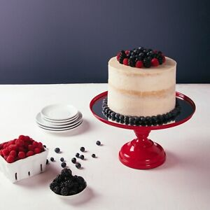 12 Inch Mirror-Top Cake Stand
