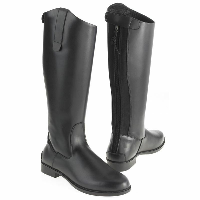 Adults Horse Riding Equi Leather Classic Showing Tall Long Riding Boot Size 3-11