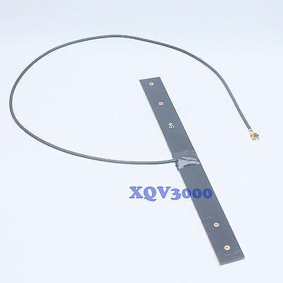 """10pc LTE 4G 3G GSM WIFI Antenna Built-in 92x8.5x1 PCB U.fl IPX 9"""" cable mini PCI"""