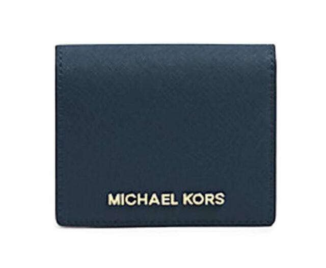 9d4348c70e40 ... wallet 39f5xhrf1l nes 69573 58799; wholesale michael kors 32t4gtvf2l  jet set travel navy leather flap card holder fdfc0 c7346