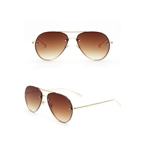 Vintage Aviator Sunglasses Women Men Retro Shades Glasses Metal Frame Eyewear