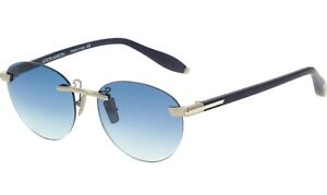 ASTON-MARTIN-Blue-Frameless-Round-Sunglasses-Mens