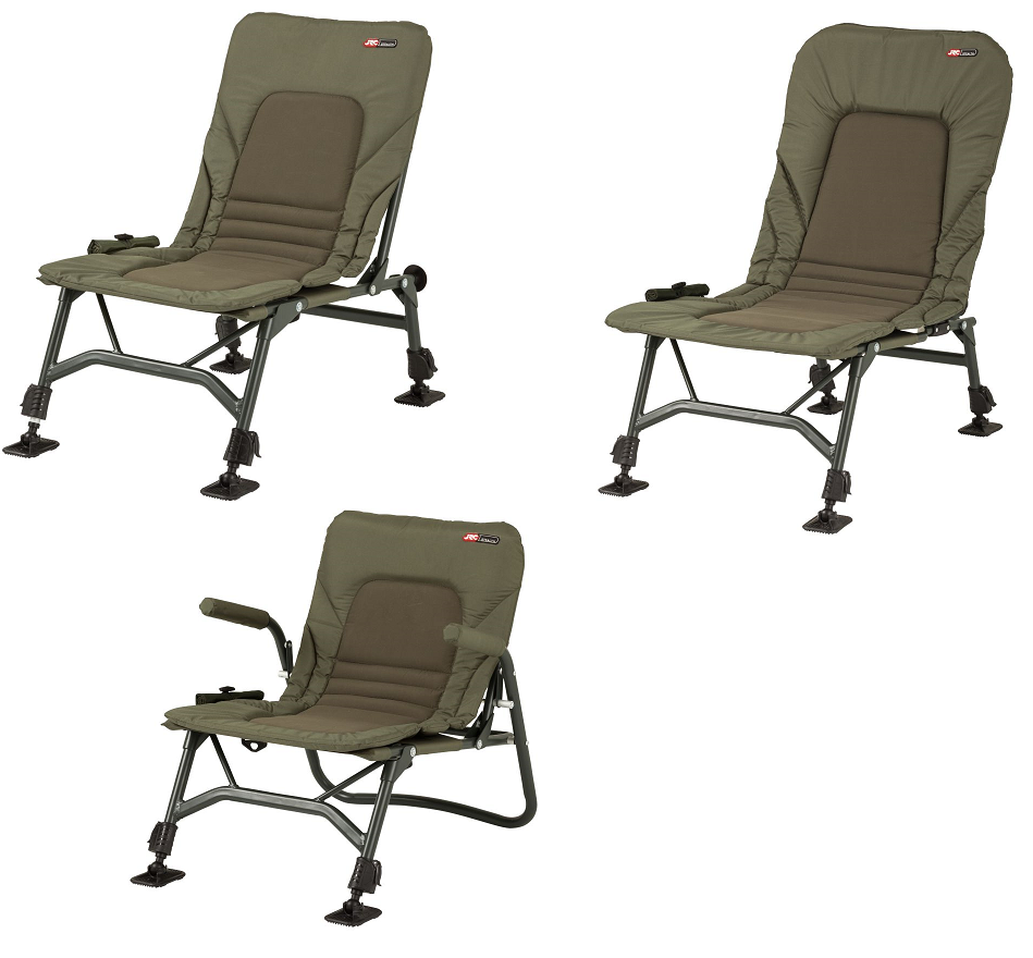 JRC Stealth X-Lite, Lo-Chair & Recliner Chairs ALL TYPES nouveau voiturep Fishing