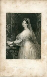 The-Countess-Of-Blessington-Engraved-By-J-Thompson-Of-A-Drawing-Of-E-T-Parris