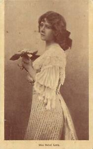 1907-VINTAGE-MISS-MABEL-LOVE-POSTCARD-FAIR-Cond-sent-to-Wellington-NSW