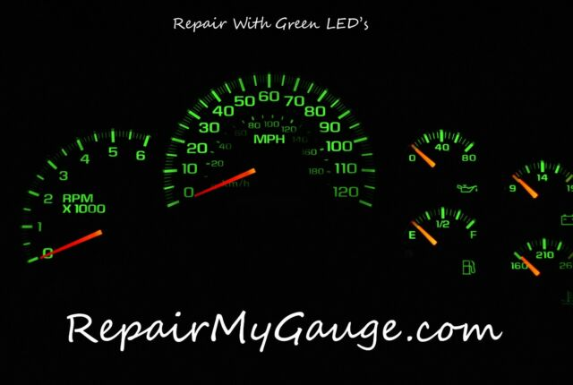 2003 2004 2005 2006 Hummer H2 GM GMC Cluster gauge Dashboard Repair Service