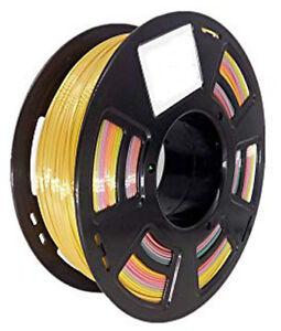 Practical Mehrfarbig Multicolor Splendid 3d Druck Filament 1.75mm 700g Selten Less Expensive 3d Printers & Supplies