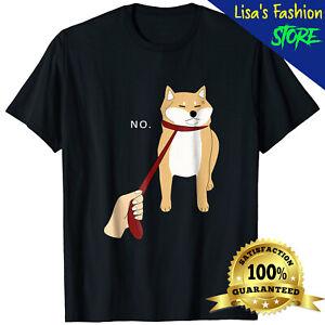 Cute Shiba Inu T-Shirt Nope Dog Meme Shiba Inu Lovers Men Women Funny Tee