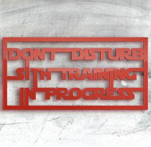 Star Wars Signe Plaques En Bois Laser En Plastique En 9 Couleurs Pour Tous Les Vrais Sith Jedi-afficher Le Titre D'origine 54nddwmx-10113440-873128117
