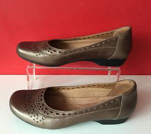 planos Leather 38 Unido Pump Bronze Clarks Dolly Ballet Reino Comfort Eur 5 zapatos Waq05wSZp
