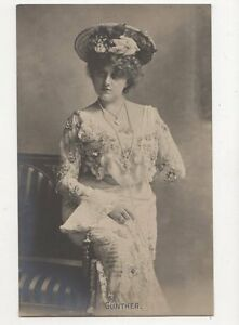 Guenther-Vintage-RP-Postcard-Austria-Soprano-322a