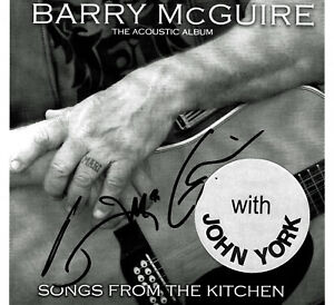 BARRY-MCGUIRE-039-S-STORE-SONGS-FROM-THE-KITCHEN-CD-W-JOHN-YORK-SIGNED-BY-BARRY