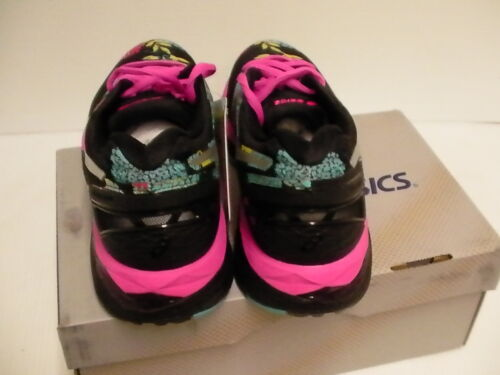 Zapatos Rosa Mujer Atletismo Kayano 23 Plateado Negros Brillo Gel Asics qCSXHwx8H