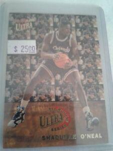 92-93-ULTRA-MAGIC-SHAQ-O-039-NEAL-ALL-ROOKIE-SERIES-INSERT-CARD-7-RC-HOF-Lakers