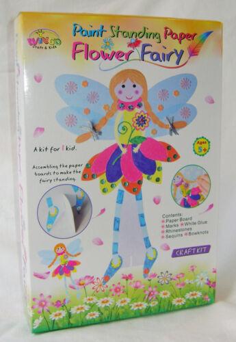Nuevo Hacer Su Propio Flor de papel permanente Hadas Crafy Kit 50078 Wingo