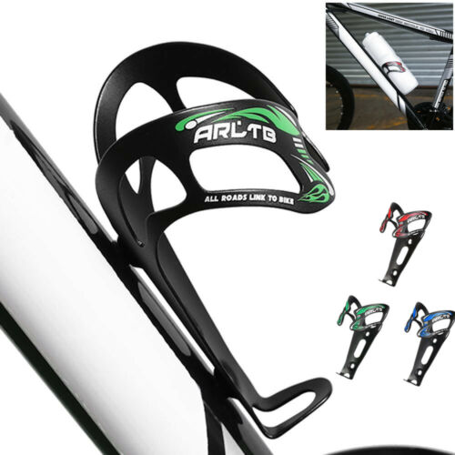 Aluminum Alloy Bike Water Bottle Cage Bicycle Cycling Drink Cup Rack Holder