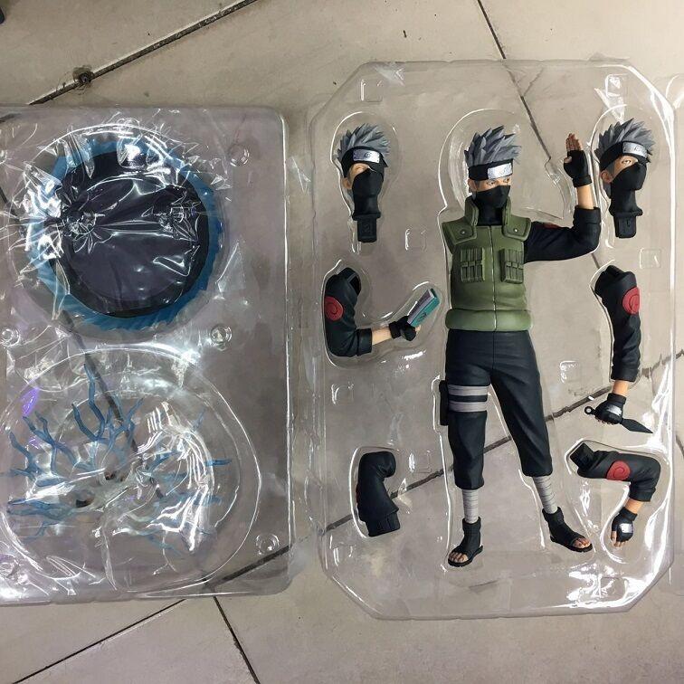 Naruto Kakashi   assemble PVC figure figures  toys 1pcs with box doll dolls