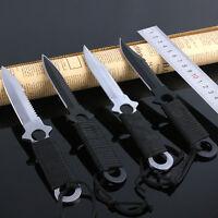 Leggings Survival Knife Fixed Blade Camping Diving Knives Outdoor Pocket Knives