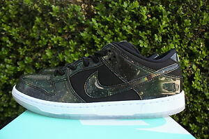 NIKE SB DUNK LOW TRD 420 QS SZ 8 QUICKSTRIKE SPACE JAM GALAXY BLACK 883232 001