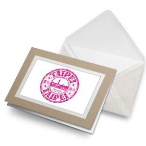 Greetings-Card-Biege-Taipei-Taiwan-Travel-Stamp-5746
