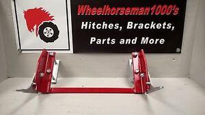 Details about Wheel Horse D160 D180 D200 GT14 C195 953 1054  hitch/plow/attachment bracket