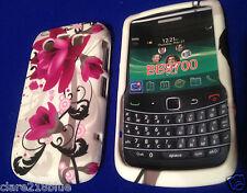 Blackberry Bold Bb9700 Rosa Fuxia Flor Gel teléfono móvil Funda Stocking