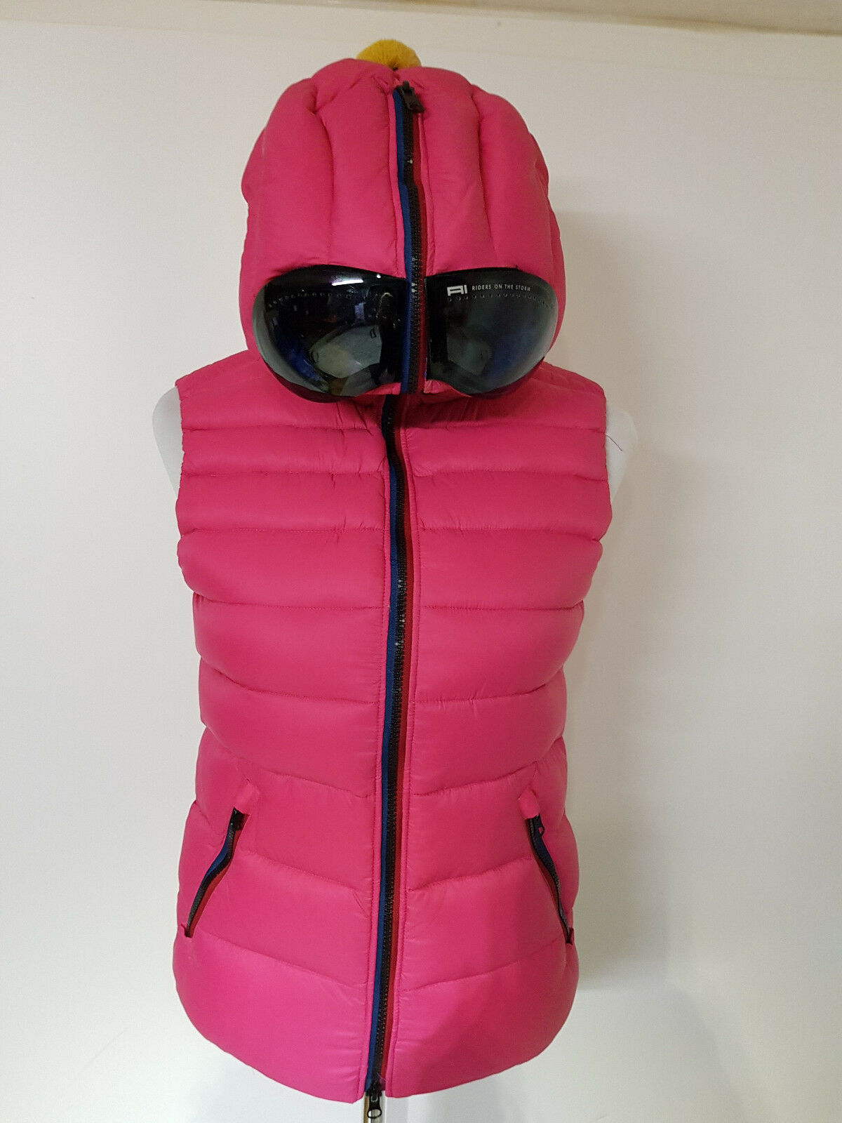 Piumino  Riders On the Storm  women Art. GCW102 Fuxia - Sconto 60%