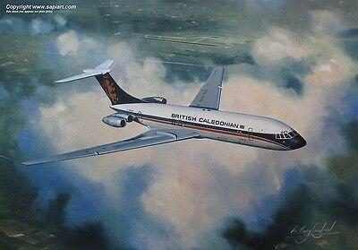 BRITISH CALEDONIAN VICKERS VC10 BRITISH AIRWAYS B CAL