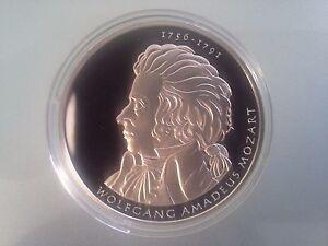 10 Euro Münze 2006 Wolfgang Amadeus Mozart Pp Ebay