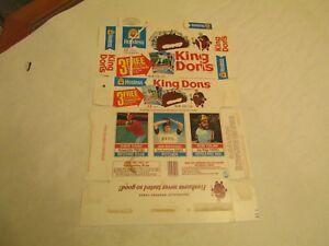 Details About Hostess King Dons Baseball Trading Cards Box Cash Montefusco Tolan