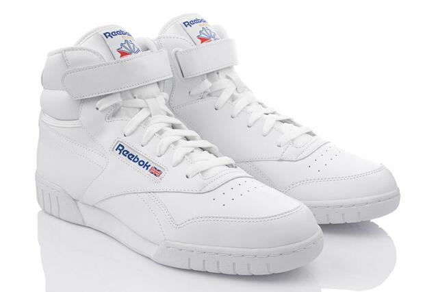 REEBOK EX-O-FIT HI Herrenschuhe Sneaker Turnschuhe Täglichschuhe Weiss 3477 0e51cfe673