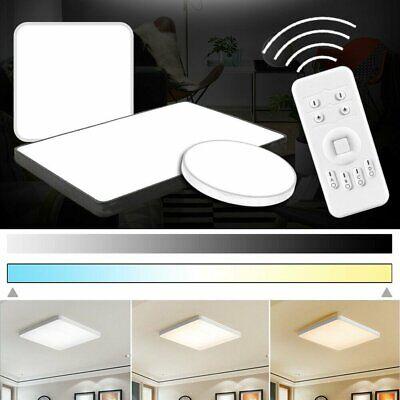 Acryl LED Deckenlampe Dimmbar Deckenleuchte Wohnzimmer Lampe mit Fernbedienung