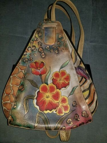 Anuschka Hand Painted Purse