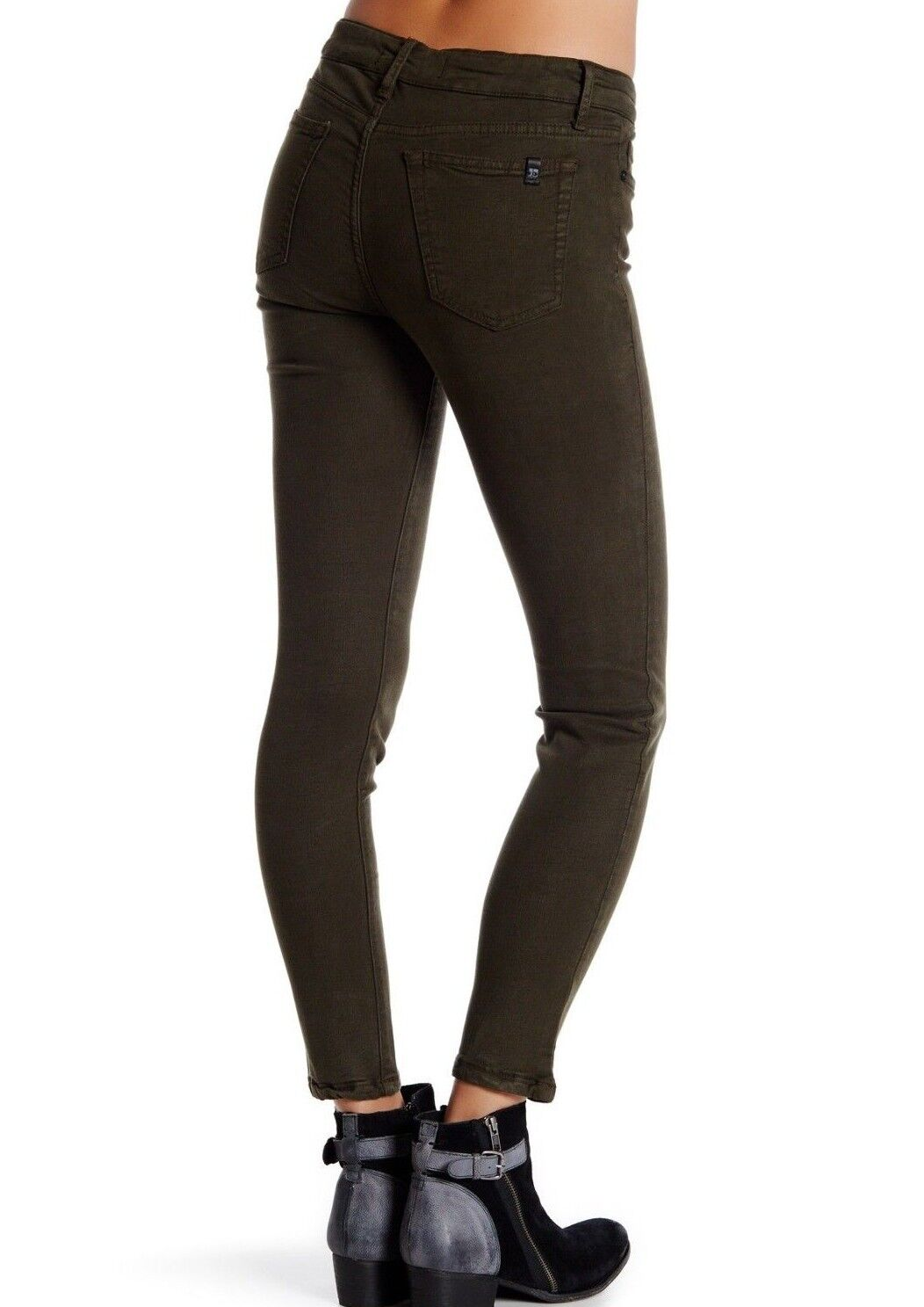 NWT JOE'S JEANS Sz29 THE SKINNY ANKLE MIDRISE STRETCH jeans MILITARY GREEN